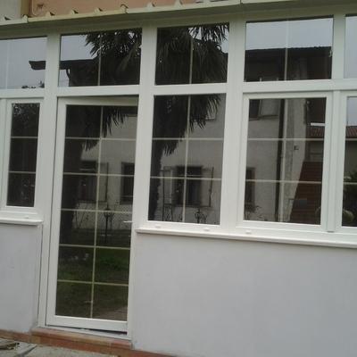 vetrata in PVC