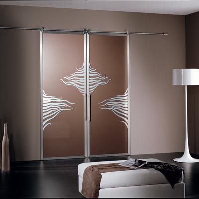 vetrata linea Garofoli binario acciaio inox