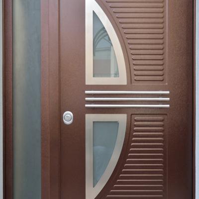 Porta di Sicurezza a due ante vetrata