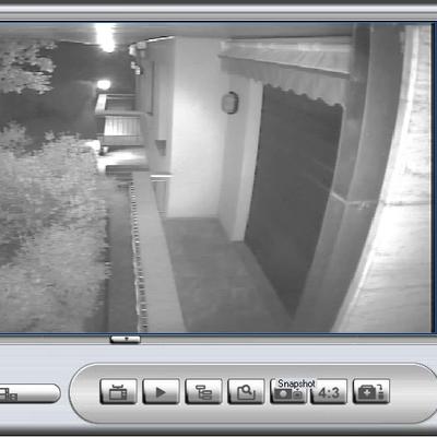 Videosorveglianza Villa - notturno