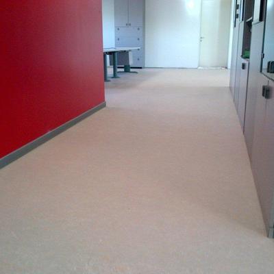 Recupero di un pavimento in linoleum
