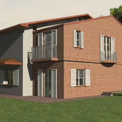 Casa R  -Progetto di ampliamento