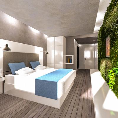 Progetto di concorso per Eurostars Hotels