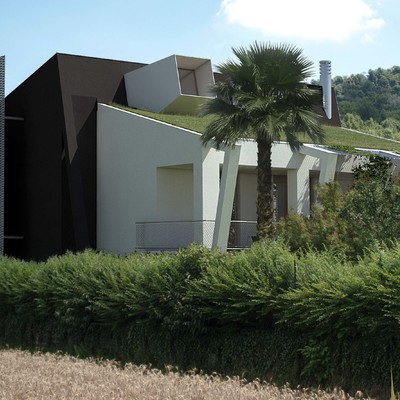 Rivivo_Progetto di riqualificazione nZEB villa unifamiliare