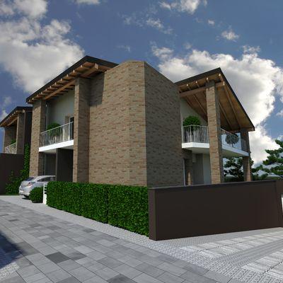 Nuova costruzione villa abbinata - provincia (RE)