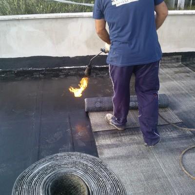 Impermeabilizzazione guaina a fiamma