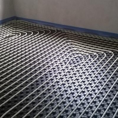 Impianto radiante basso spessore