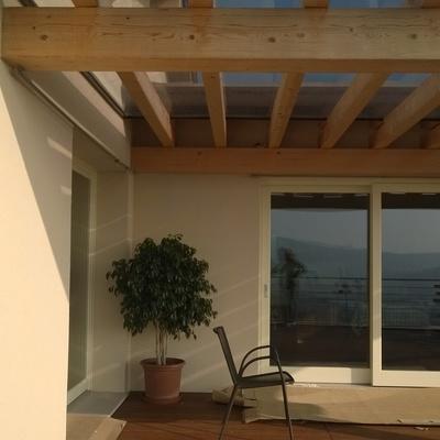 residenziale esterno - vetrata