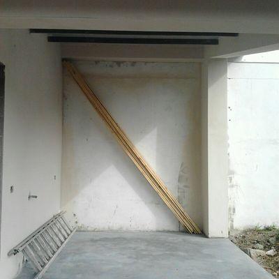 Preparazione per copertura tettoia in legno