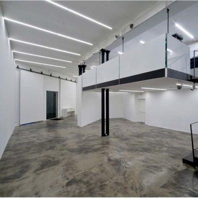 Ristrutturazione galleria