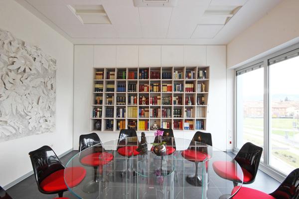Foto interior design per uno studio di avvocati di jfd - Interior design perugia ...