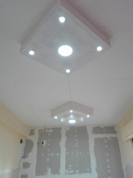 Foto Realizzazione Lampadari In Cartongesso Di Edilizia Generale