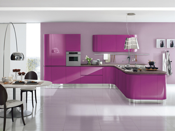 Cucina Moderna Fuxia.Foto Cucina Aerre Di Studio 63 463398 Habitissimo