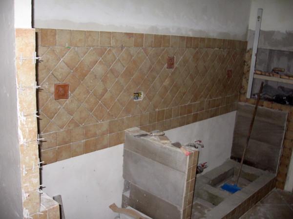 Angolo Cottura In Muratura : Cucina in finta muratura rustica falegnameria conca