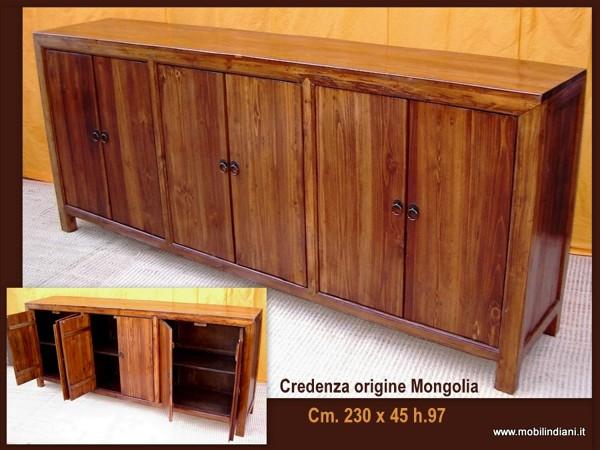 Credenza Con Vetrina Etnica : Foto arredamento etnico credenza origine mongola di mobili