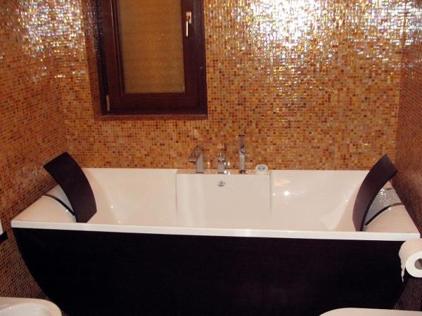 Rivestimenti bagno mosaico bisazza bagno mosaico arancione