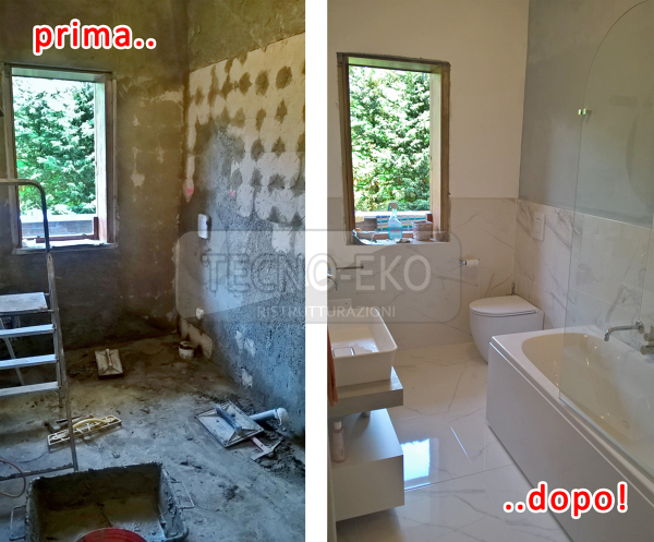 Foto: Ristrutturazione Bagno a Padova, Quartiere San Bellino Prima e ...