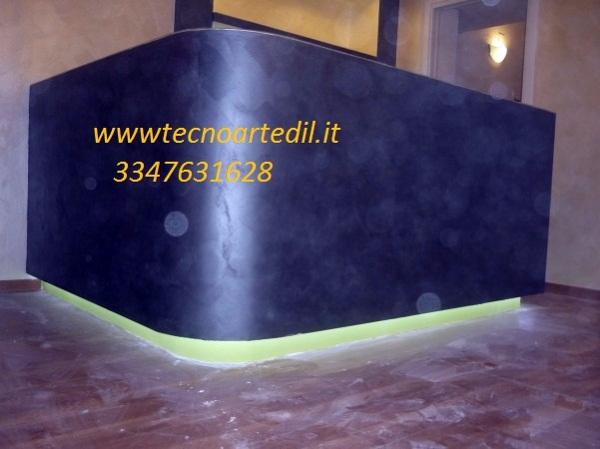 Foto: Bancone In Cartongesso Illuminato con LED Milano di Tecnoartedil #89158 - Habitissimo