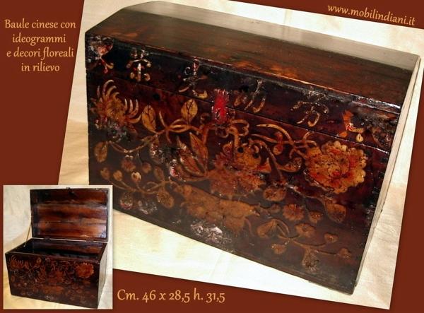 Mobili Cinesi Laccati Neri : Foto: baule cina legno in laccato di mobili etnici #101219 habitissimo