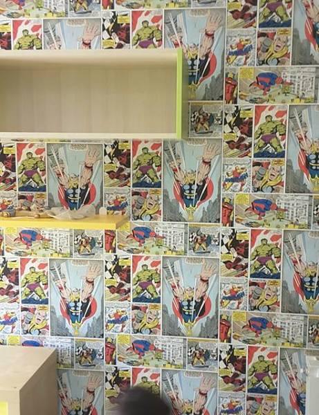 Carta Da Parati A Palermo.Foto Carta Da Parati Fumetti Di Zp Palermo Srls 544786 Habitissimo