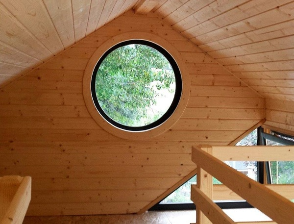 Foto case in legno di casa natura o m company 359288 for Garage pont de salars