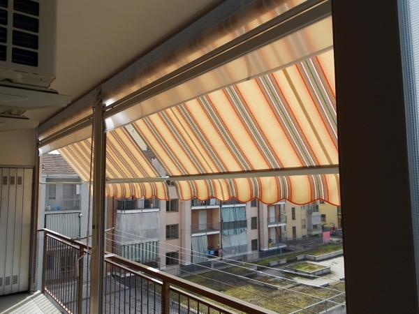 Tende Veranda Per Chiusure Invernali : Foto chiusura completa balcone con tenda veranda doppio rullo