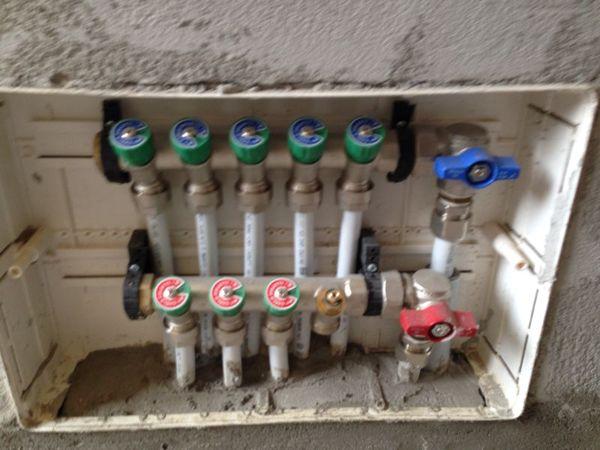 Foto collettore impianto idrico di morgan impianti 223517 habitissimo - Diametro tubo multistrato per bagno ...