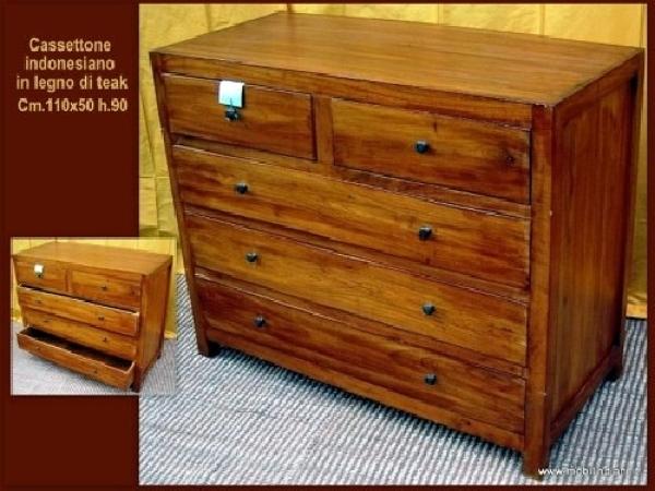 Foto cassettone etnico da camera di mobili etnici 41043 for Arredamento etnico cagliari
