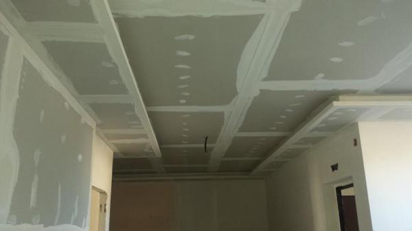 Foto controsoffitto con luce soffusa di ditta pernice