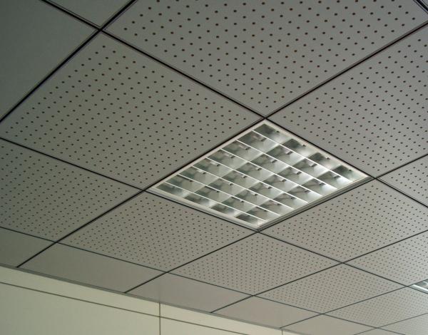 Foto controsoffitto metallico uffici milano di lucchi for Uffici attrezzati milano