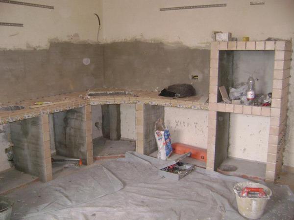 Foto: Costruzione Cucina In Muratura di Mirabella Giuseppe ...