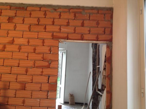 Foto costruzione parete finita in forati da 8 cm zappino costruzioni di zappino costruzioni - Progetti e costruzioni porte ...