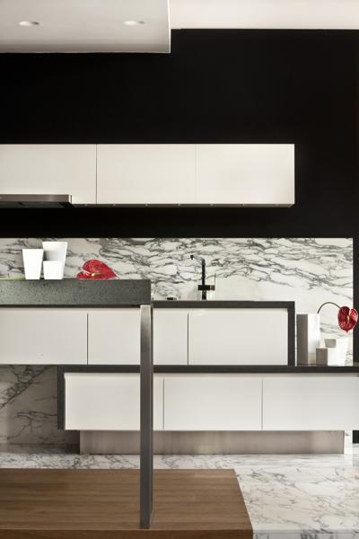 Foto cucina alternativa moderna di michele volpi studio - Alternativa piastrelle cucina ...
