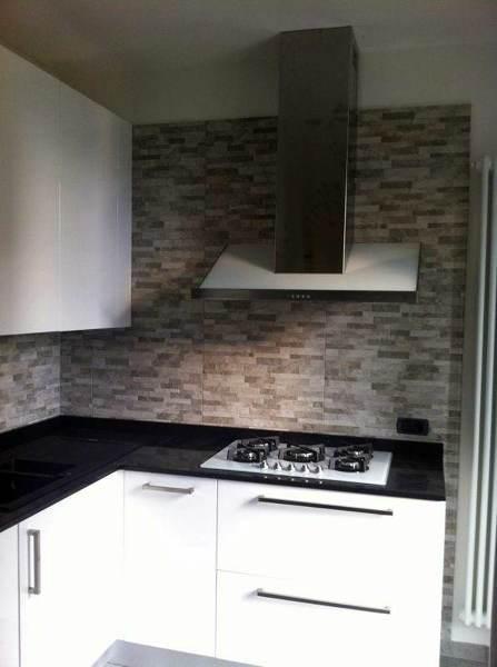 Foto cucina laccata bianca lucida di l 39 arredamento della brianza 136197 habitissimo - Cucina bianca lucida ...