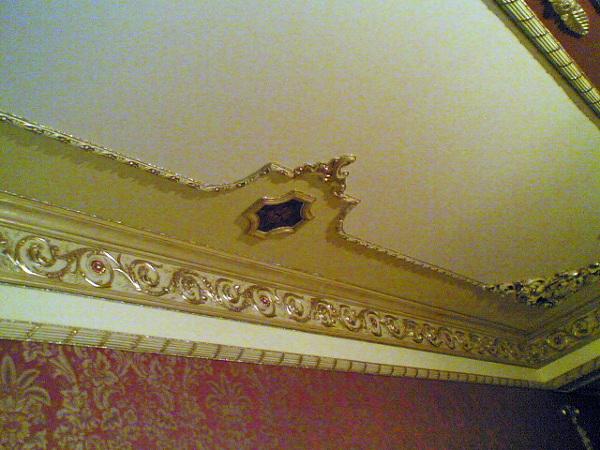 Foto decorazioni in gesso con carta da parati di simpat srl 155458 habitissimo for Decorazioni in gesso