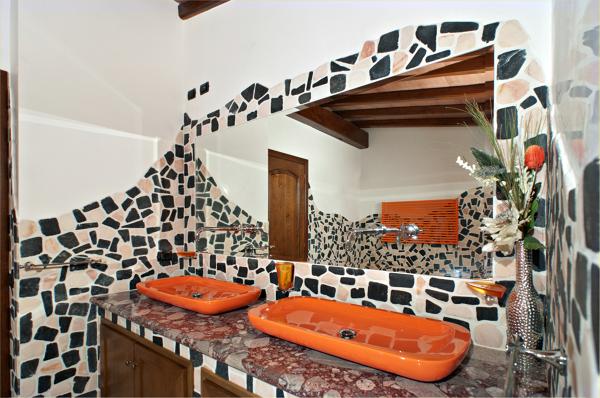 Foto bagno arancione di edilciani habitissimo