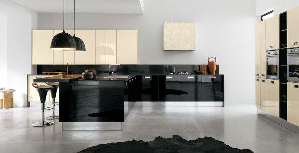 Foto cucine laccate lucide di ingrosso mobili 371473 for Cucine rosse