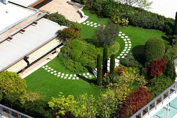 Foto: Giardino Pensile su Terrazzo di Sole Verde #108820 - Habitissimo