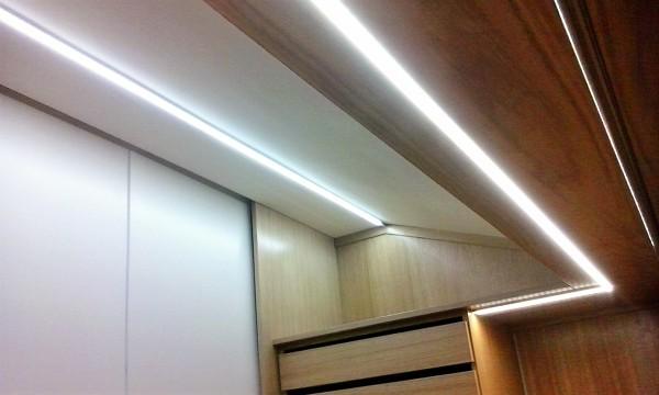 Foto: Illuminazione Cabina Armadio di Punto Luce #327116 - Habitissimo