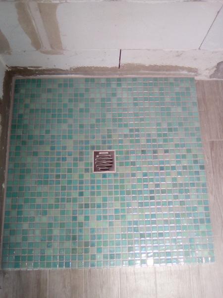 Foto Piatto Doccia In Mosaico Di Lavori Edili 504106 Habitissimo