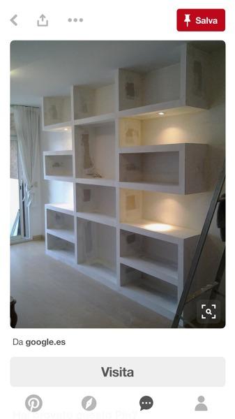 Foto: Mobile Tv Libreria da Soggiorno In Cartongesso di D&d ...