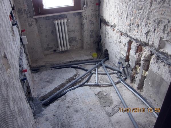 Foto impianto bagno di pasqualato elena 98982 habitissimo - Impianto idraulico bagno ...