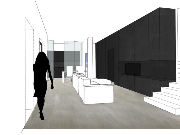 Foto interior design per residenza unifamiliare - Federica naj oleari interior designer ...