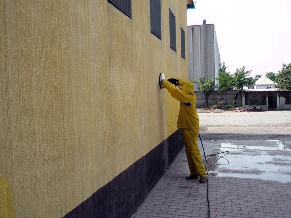Intonaco Esterno Moderno : Foto lavaggio intonaco esterno di idrowash habitissimo