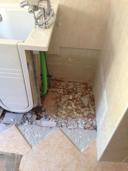 Foto lavori di sostituzione vasca da bagno de termoclima - Sostituzione vasca da bagno prezzi ...