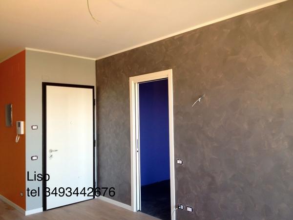 Foto lavoro di velatura di antonio liso 77795 habitissimo for Imbiancatura delle pareti