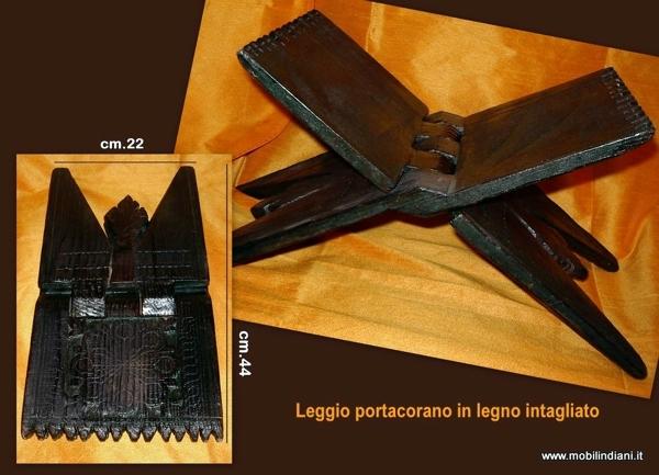 Foto leggio etnico in legno di mobili etnici 113749 for Arredamento etnico cagliari