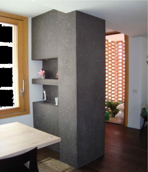 Foto: Mini Separe da un Soggiorno Cucina di M.a.g. Pittura E ...
