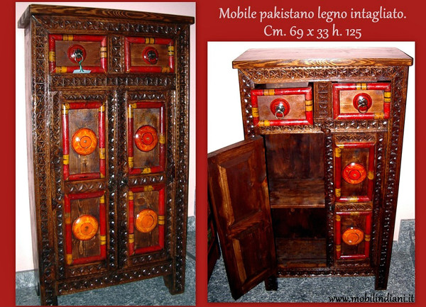 Foto mobile etnico pakistano de mobili etnici 113650 for Arredamento etnico bari