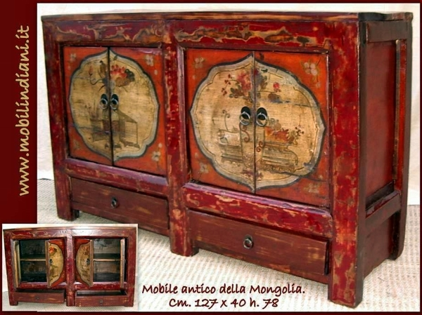 Foto mobili mongoli antichi di mobili etnici 113684 - Mobili etnici bari ...